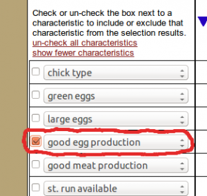 Good egg production