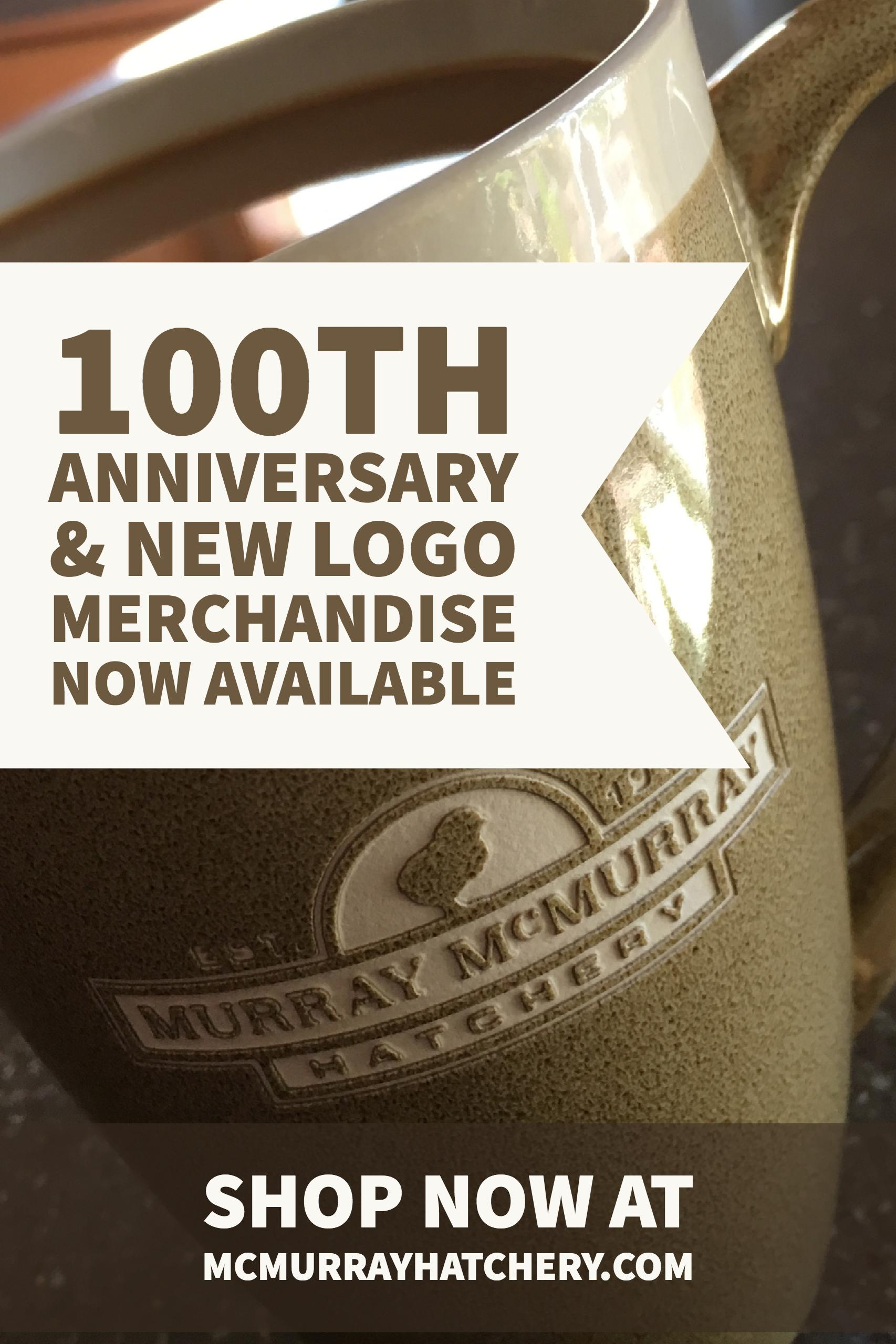 mcmurray hatchery 100th anniversary mug