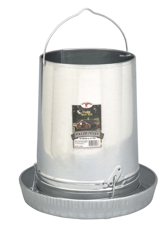 McMurray Hatchery | Chicken and Poultry Feeders | Galvanized Feeder