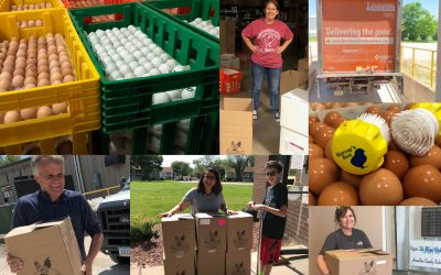 Serving Up Eggs to Iowans in Need