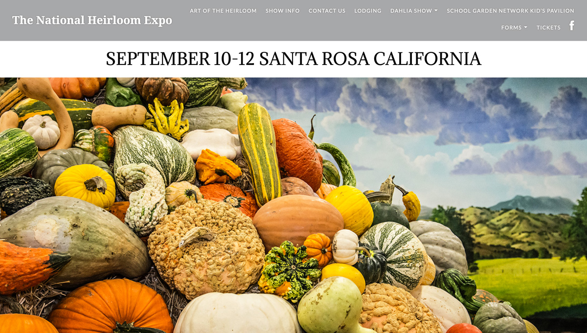 2019 National Heirloom Expo in Santa Rosa, CA | McMurray Hatchery Exhibitor